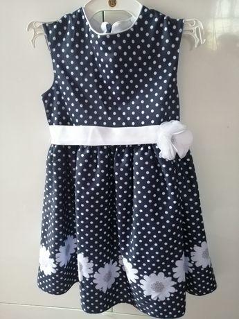 Sukienka w groszki 116