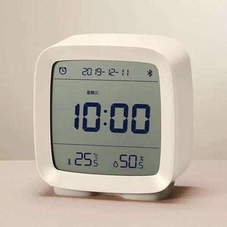 Умный Будильник Термометр Гигрометр Xiaomi Qingping