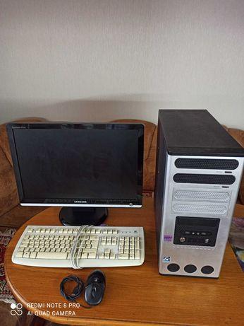 Компьютер Стационарный - все в комплекте с камерой