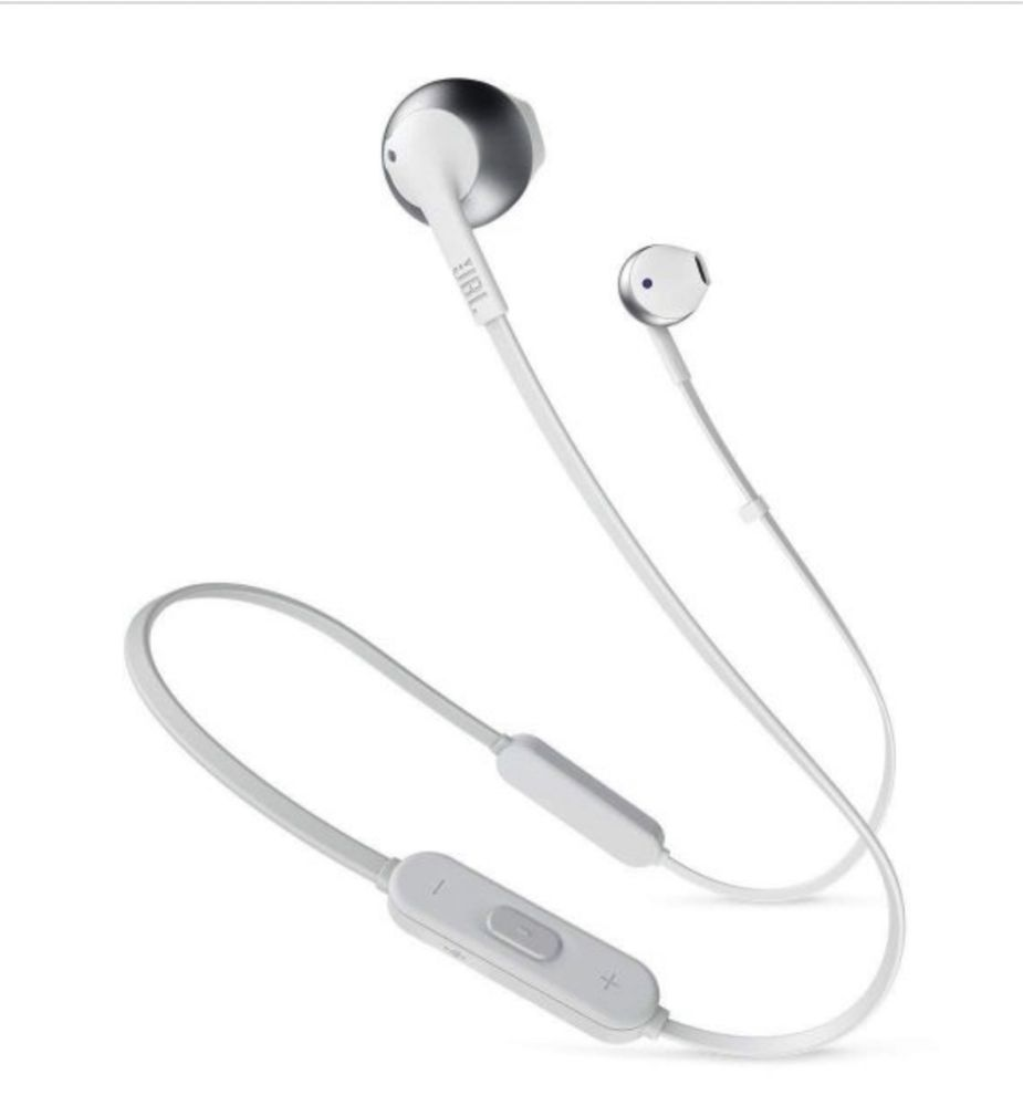 Headphones bluetooth JBL T205BT Silver