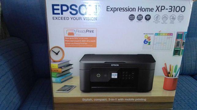 Impressora EPSON-XP 3100 com tinteiros (tudo novo e selado)
