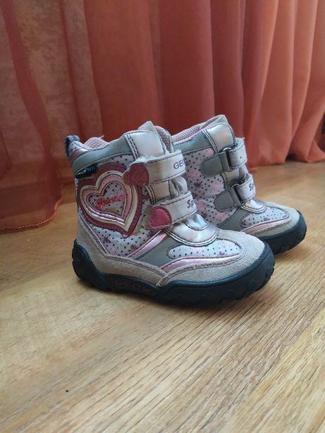 Продам зимние ботинки Geox 22р.
