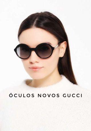 Óculos de sol redondos Gucci / com factura da optica