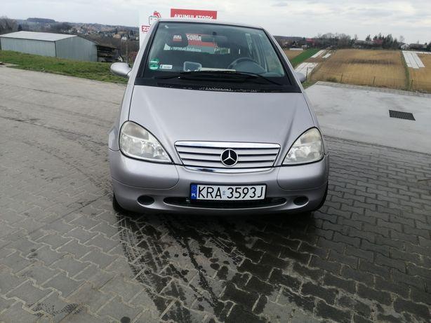 Mercedes A160 1.6 benzyna ładny