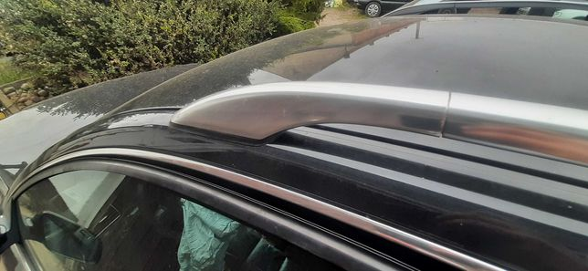 Relingi dachowe Audi A6 C5 chrom srebrne