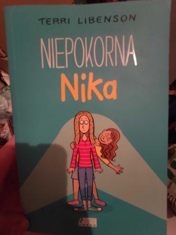 """Nowa książka """" Niepokorna Nika"""""""