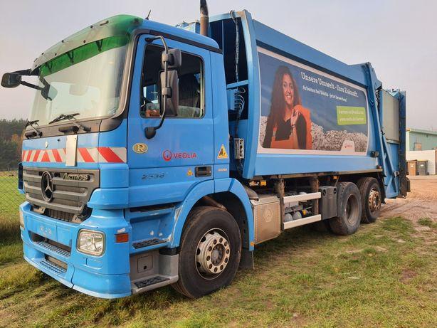 Mercedes mp3 euro5 wrzuty Delta zabudowy trzy sztuki wyboru śmieciarka