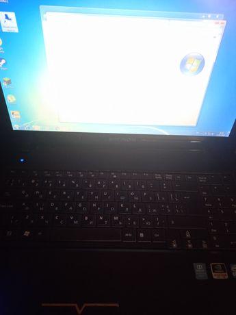 Мощный игровой ноутбук Gt-540m, i-3, 4Ram. Madion Akoya p6630