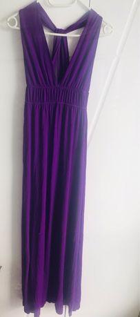 Fioletowa sukienka 40