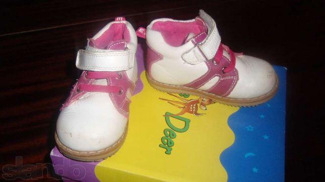 Продам ботиночки на девочку весна-осень