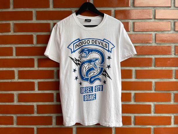 Diesel оригинал мужская футболка размер L дизель Б У