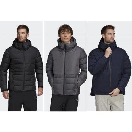 Мужская зимняя куртка пуховик Adidas URBAN RAIN.RDY COLD.RDY оригинал