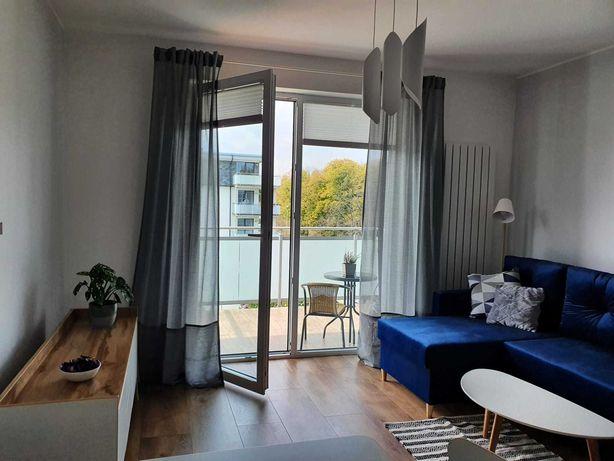 Apartament/mieszkanie z balkonem, ogródkiem i parkingiem na wynajem