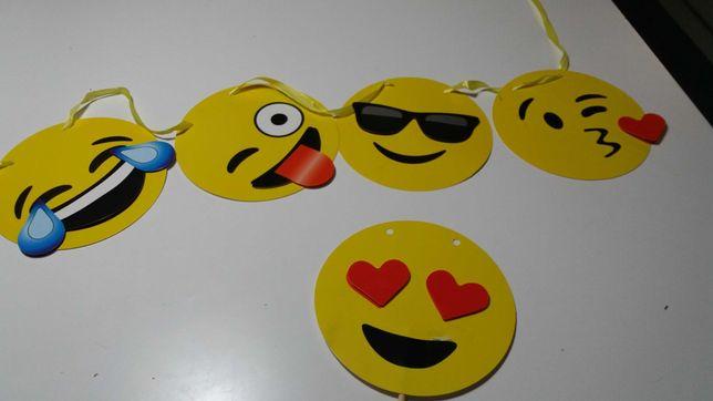 Bandeirolas de aniversário Emojis