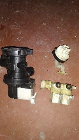 Прессостат та клапана Indesit WISL 105 X EX