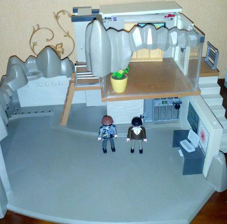 Playmobil, плеймобил Штаб-квартира секретных агентов