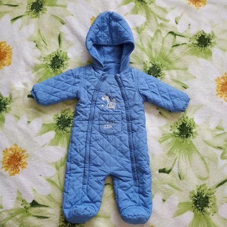 Комбінезон для хлопчика на 6-9 місяців, комбинезон, демісезонний