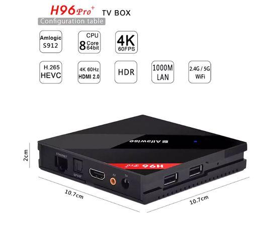 Smart TV Box H96 Pro+ 3GB 32GB
