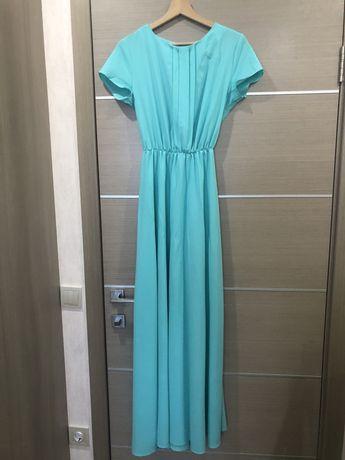 Красивое платье в пол, S-M, 42-44