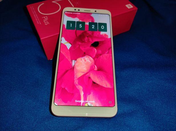 Xiaomi Redmi 5 Plus (4/64Гб)+ новое защитное стекло в комплекте+ чехол