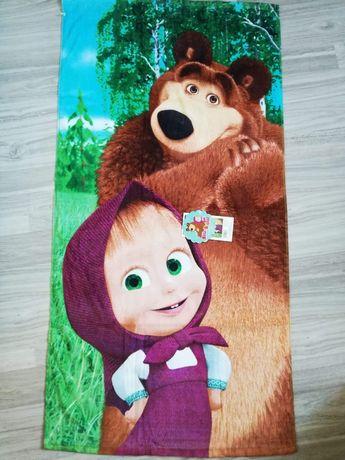 Masza i niedźwiedź ręcznik kąpielowy 70x140