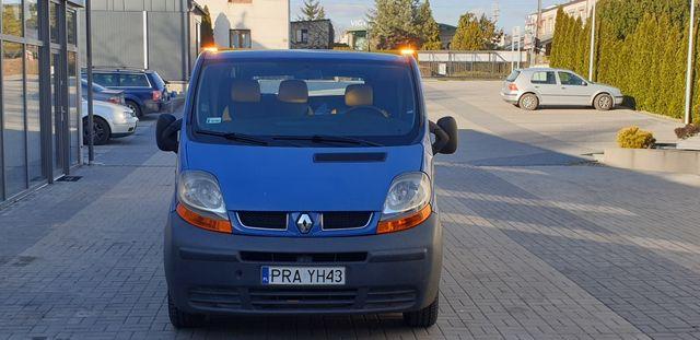 Autoławeta Renault Trafic II