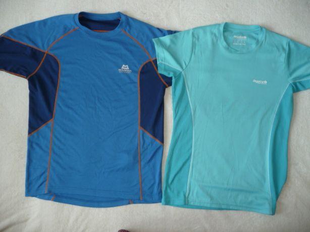 Dwie sportowe koszulki fitness Regata