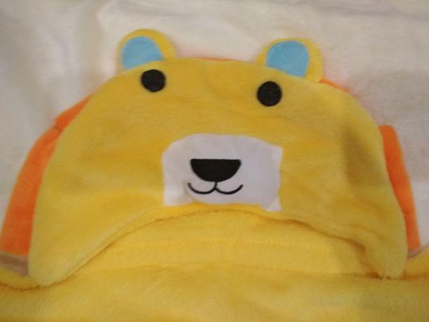 Детское флисовое полотенце - плед