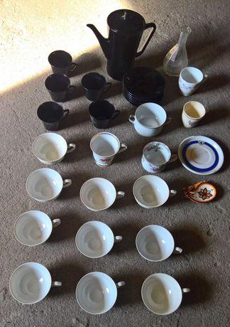 Zestawy filiżanek Porcelana Chodzież + dodatki