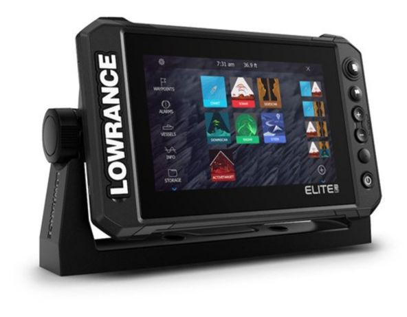 Эхолот Lowrance Elite 7 FS + Active Imaging 3в-1 + Карта Днепра !