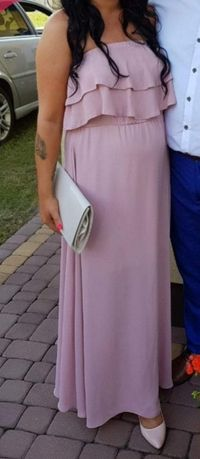 Sukienka długa hiszpanka. M