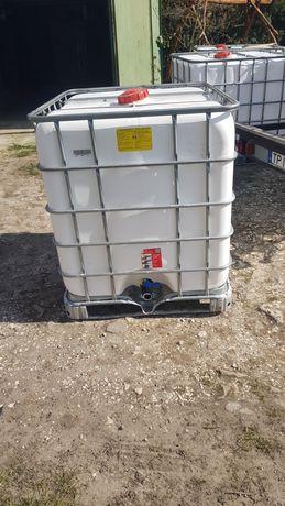 Pojemnik mauzer beczka zbiornik na wodę paletopojemnik 1000l CPN RSM