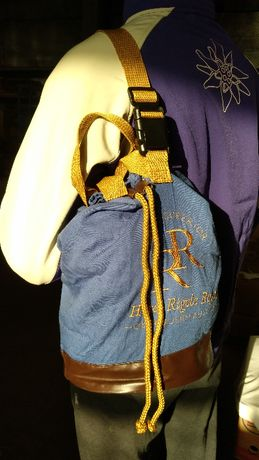 Рюкзак заплічник - сумка. Стильна, джинсова
