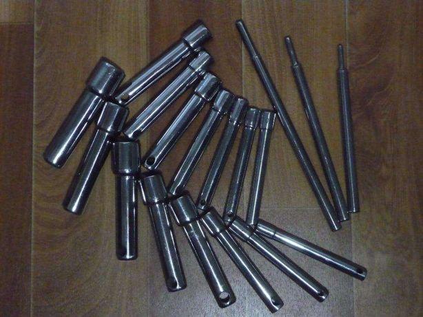 Набор торцевых ключей, 15 штук (8-22 мм)