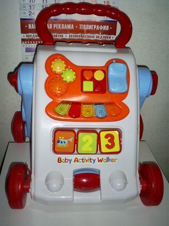 Толокар Ходунки-каталка Piccino Piccio Baby Activity Walker