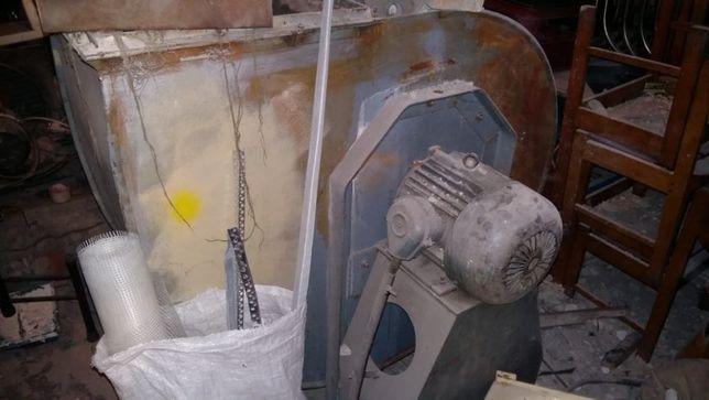 вентилятор центробежный улитка вытяжка ВЦ 4-75 3кВт