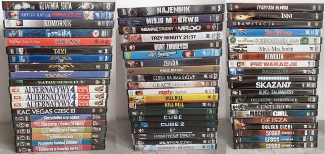 Kolekcja Filmów DVD 400szt.