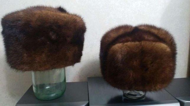 Продам две норковые шапки в хорошем состоянии