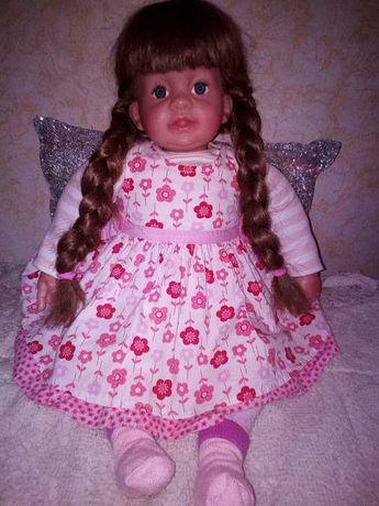 кукла пупс 59 см. интерактивный