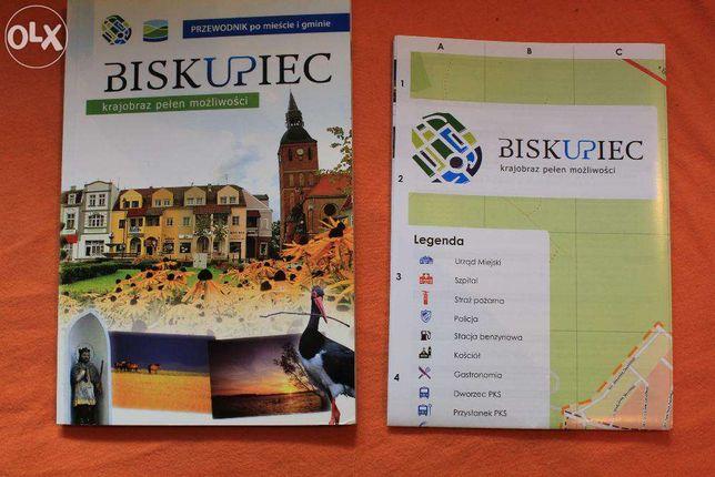 Biskupiec-przewodnik po mieście i gminie+3 mapy-Warmia i Mazury-512