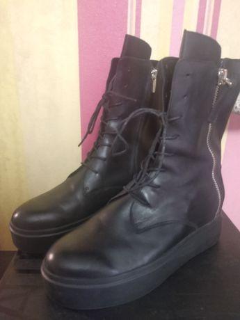 Кожаные ботинки ATTIZZARE-39р.