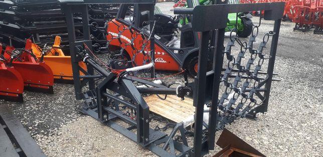 Włóka łąkowo polowa łąkowa Metal Technik 3m - 8 m hydraulika dostawa