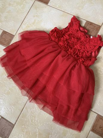 Платье нарядное H&M + повязка