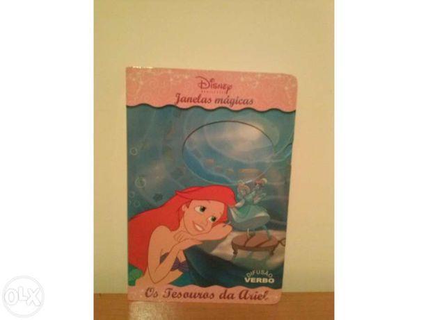 """Livro da Ariel """" Os tesouros da Ariel"""""""