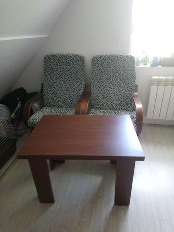 Dwa fotele + ława