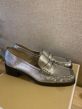 Туфли Лоферы Zara 38-39 , 25 см