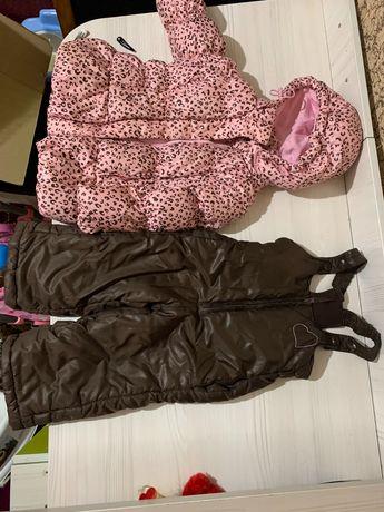 Фирменный комплект (Куртка и полукомбинезон BabyGo, 900 руб