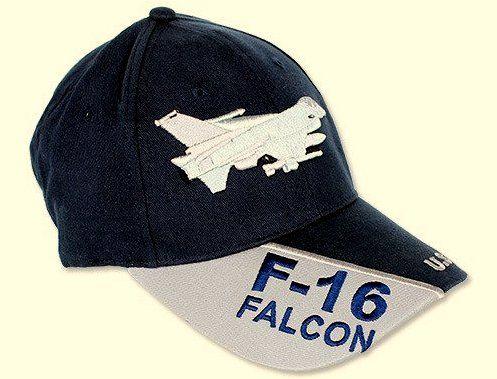 Czapka Z Daszkiem Bejsbolówka F-16 U.S. Air Force Militaria
