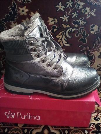 Женские зимние ботинки 37 размер