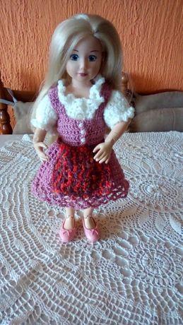 Ubranka dla lalek-sukienka